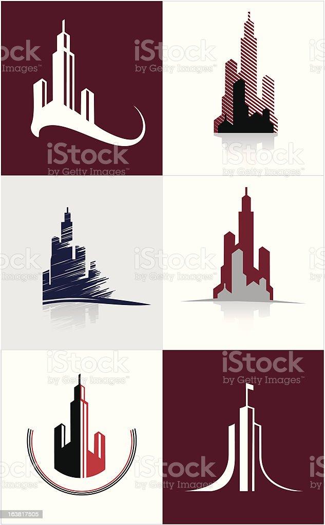 logo town royalty-free stock vector art