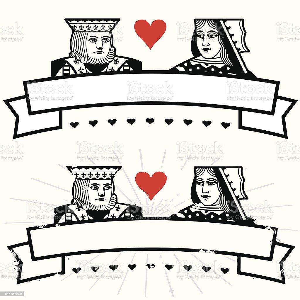 Long live love vector art illustration