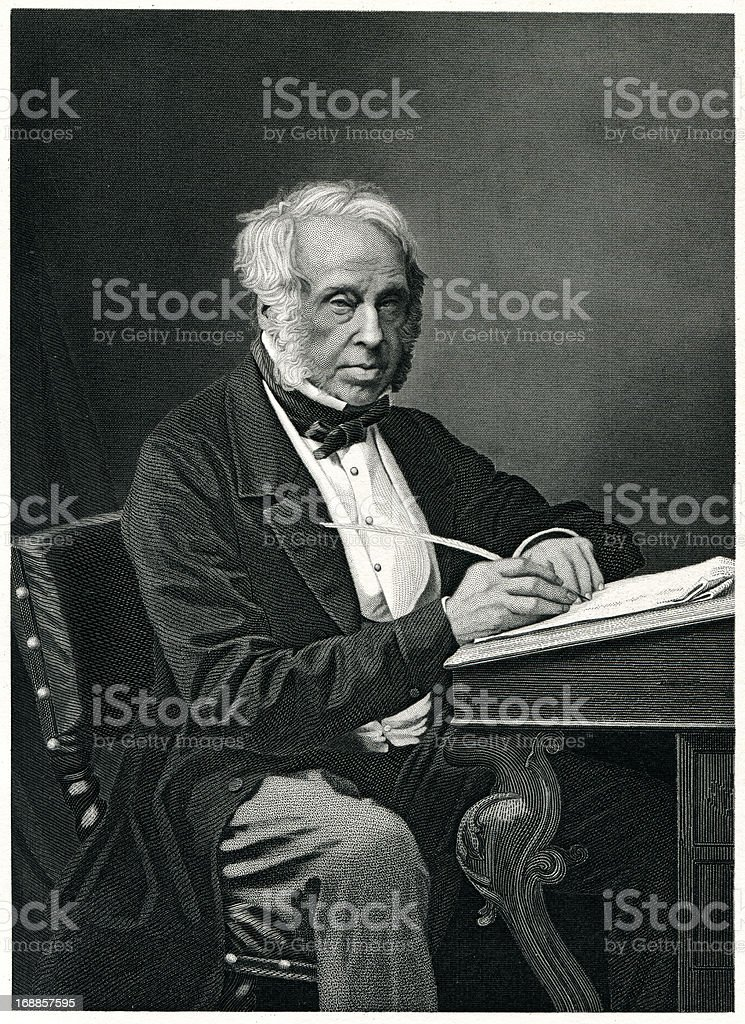 Lord Palmerston royalty-free stock vector art