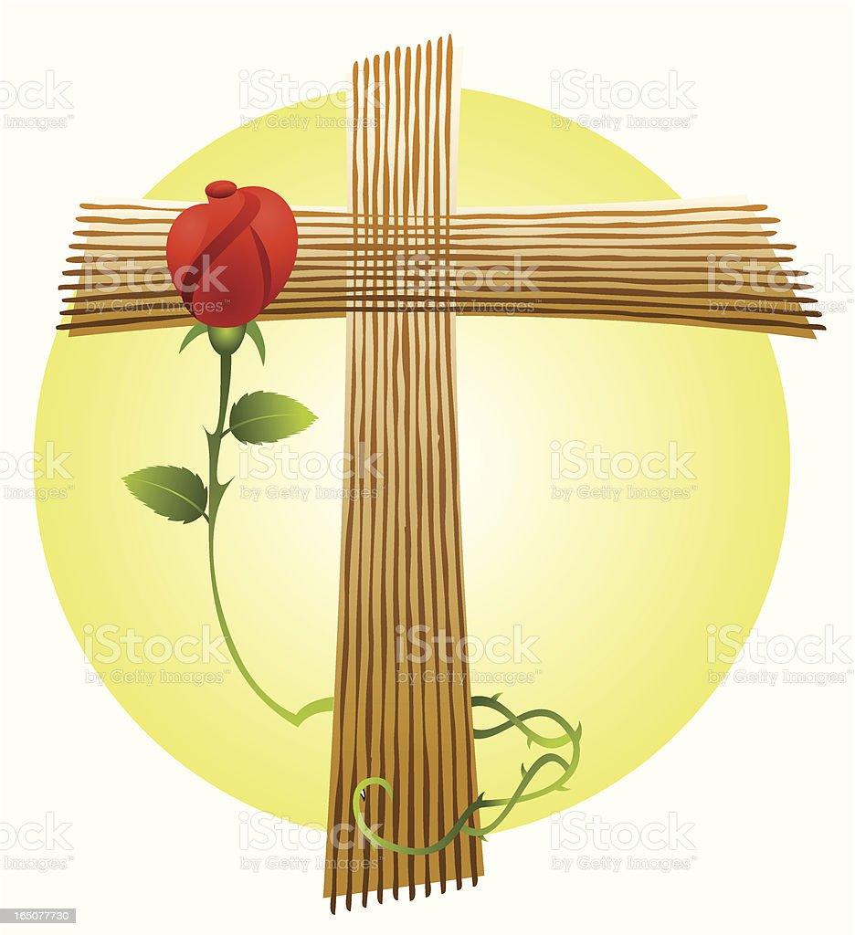Love and faith royalty-free stock vector art