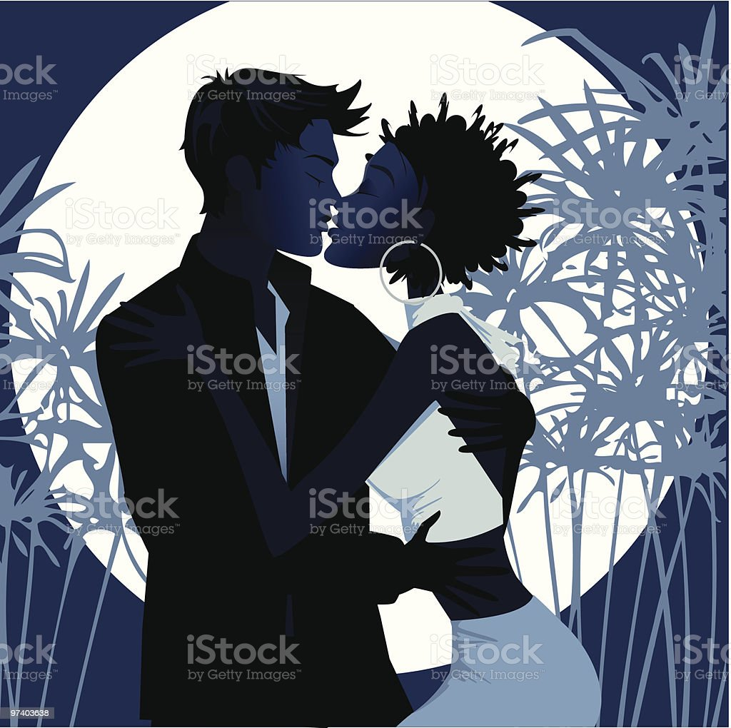 Love at the first sight royalty-free stock vector art