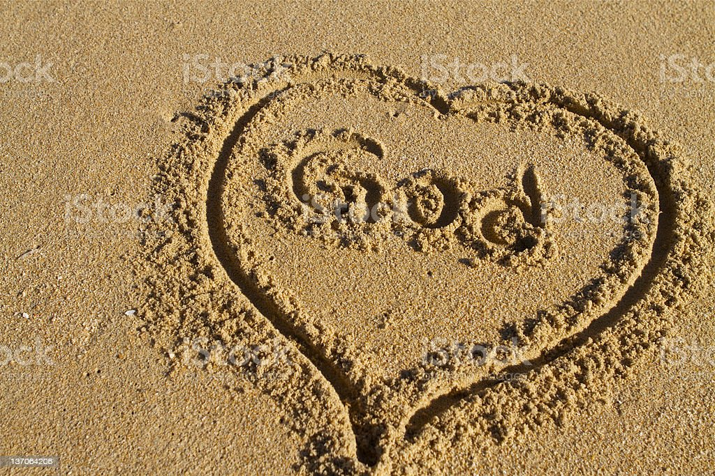 Love God royalty-free stock vector art
