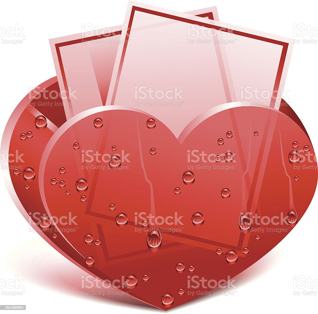 Love message royalty-free stock vector art