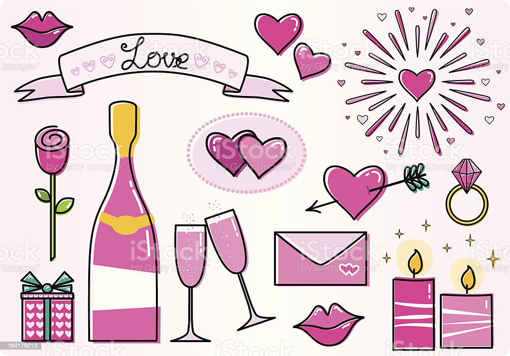 love set royalty-free stock vector art