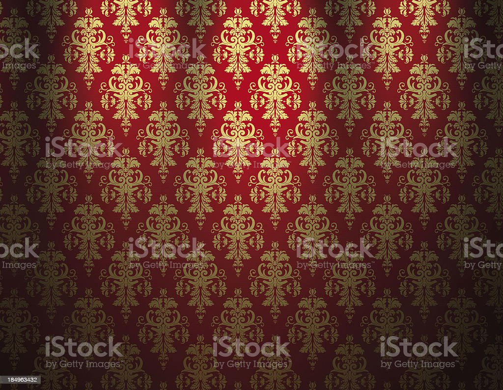 Luxurious Wallpaper royalty-free stock vector art