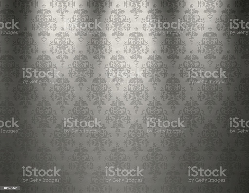 Luxurious White Wallpaper royalty-free stock vector art
