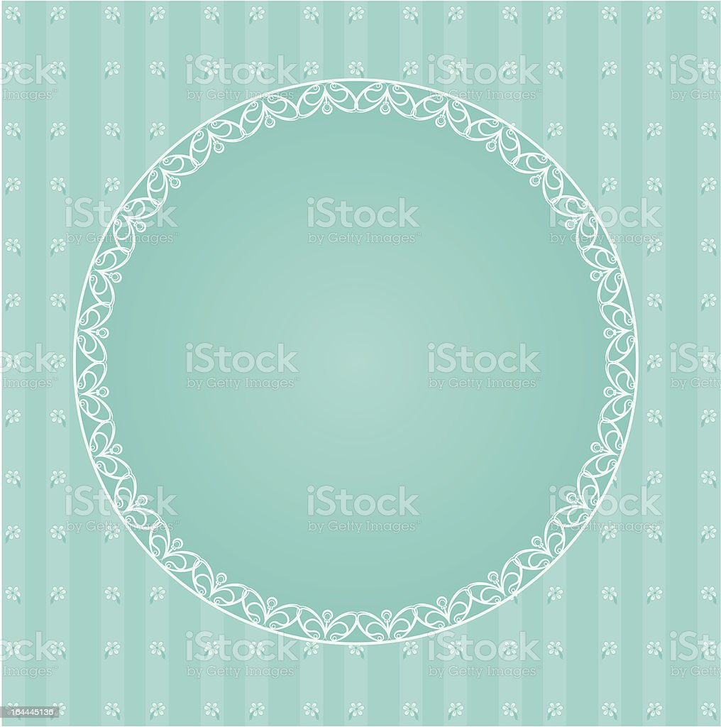 Luxury vintage background. Vector royalty-free stock vector art