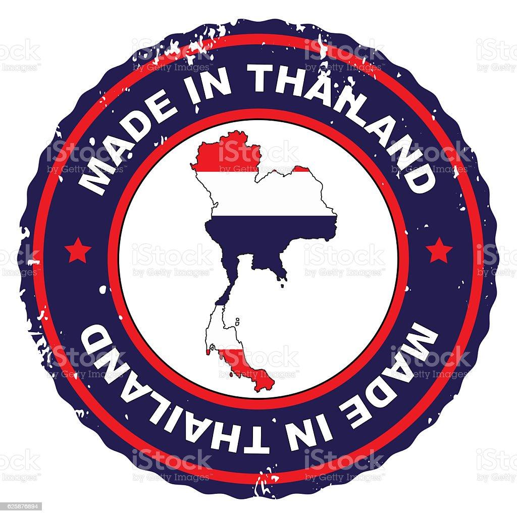 Made In Thailand vector art illustration
