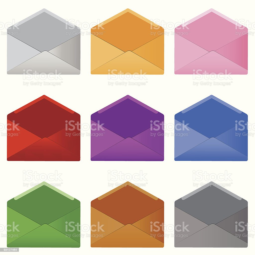 mails royalty-free stock vector art