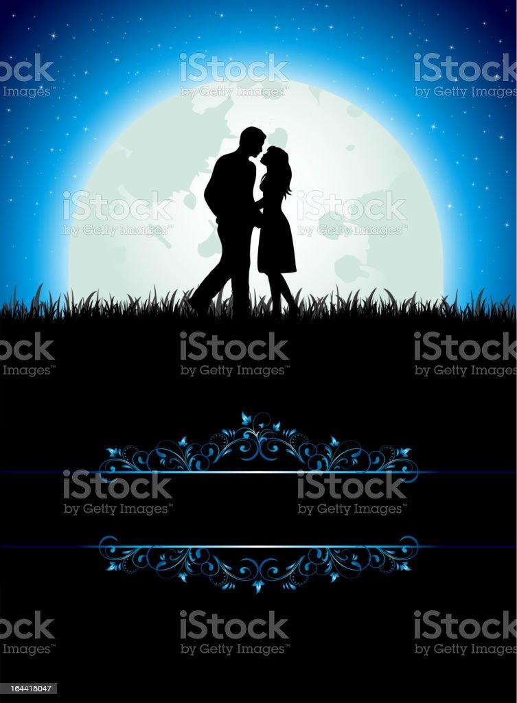 Man and Woman royalty-free stock vector art
