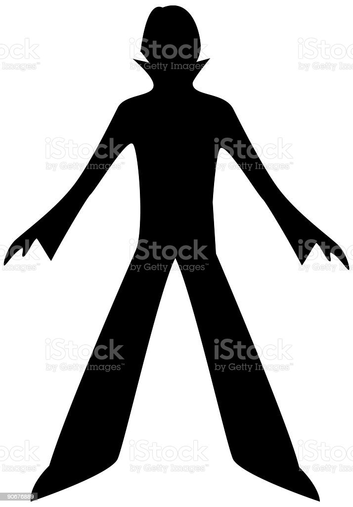 Man silhouette royalty-free stock vector art