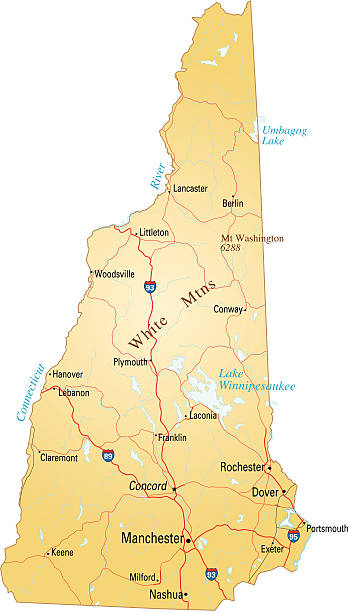 New Hampshire Clip Art, Vector Images & Illustrations - iStock