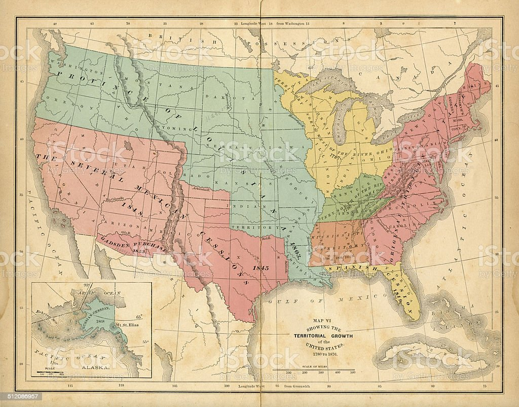 United States Territorial Growth Map The United States Did - Territorial growth of the united states