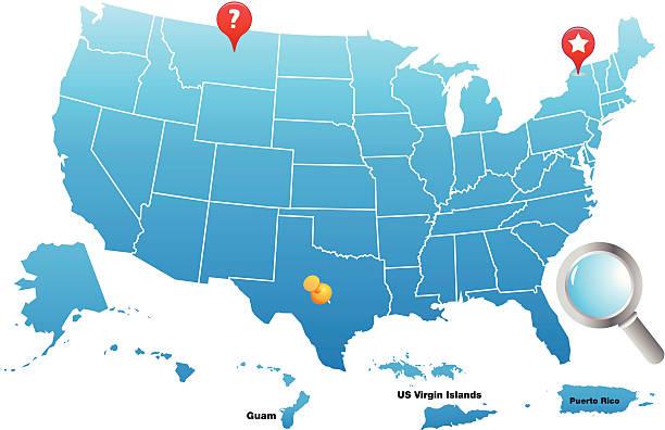 Guam Clip Art Vector Images Illustrations IStock - Guam on a us map