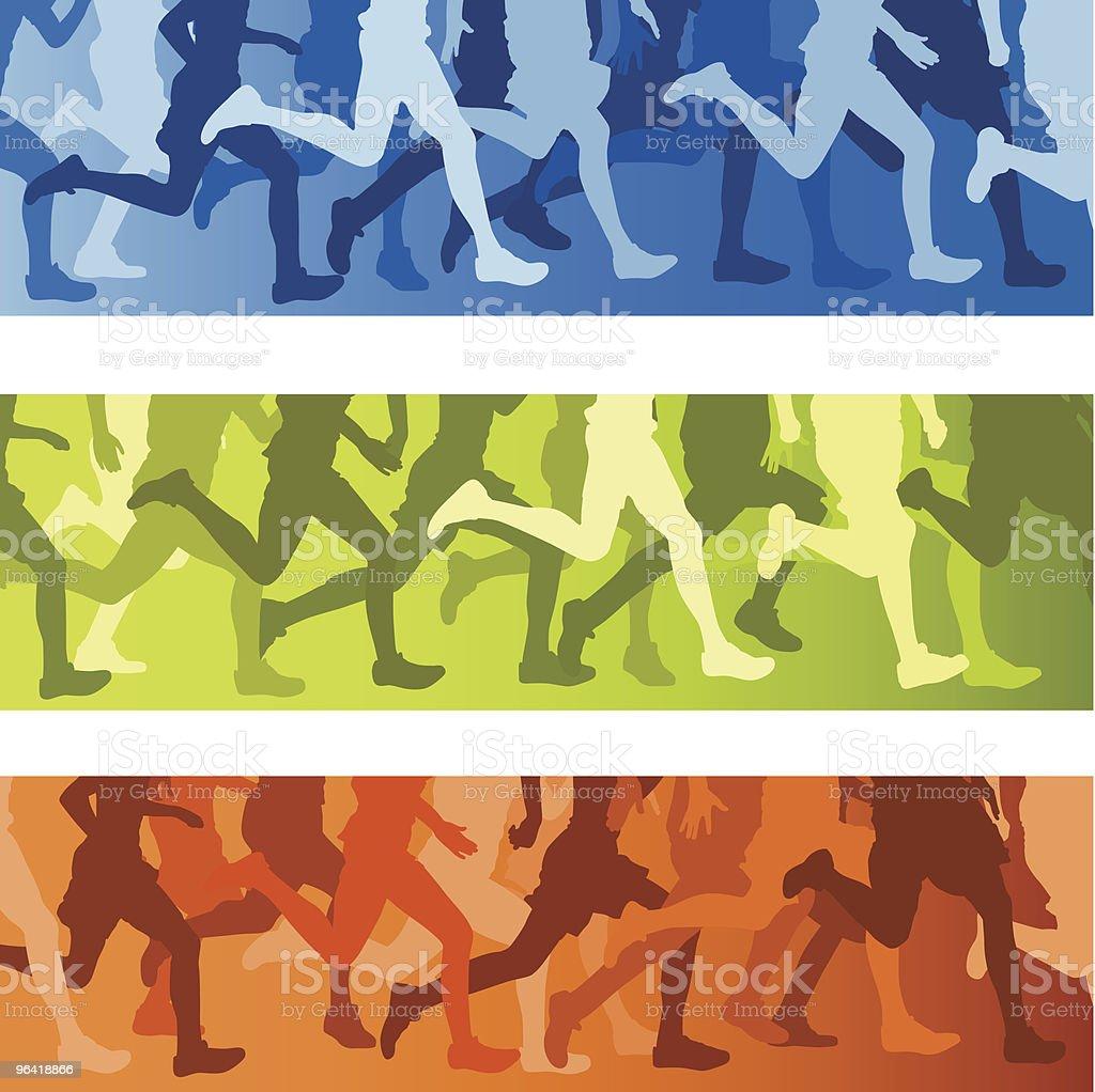 Marathon royalty-free stock vector art