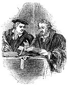 Martin Luther and Philip Melancthon