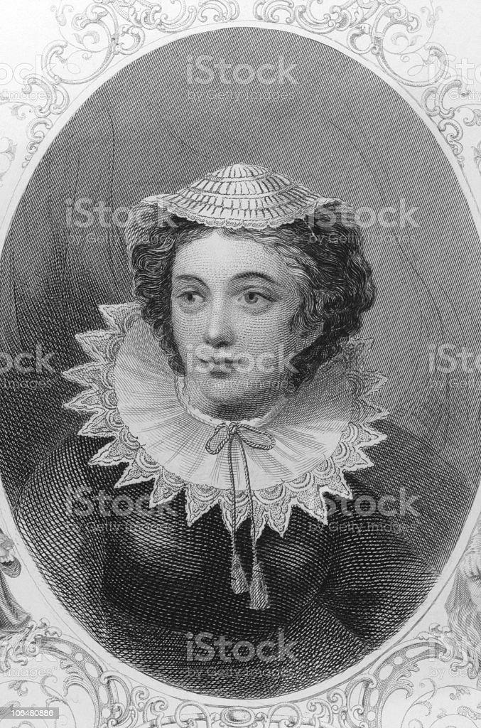 Mary I of Scotland vector art illustration