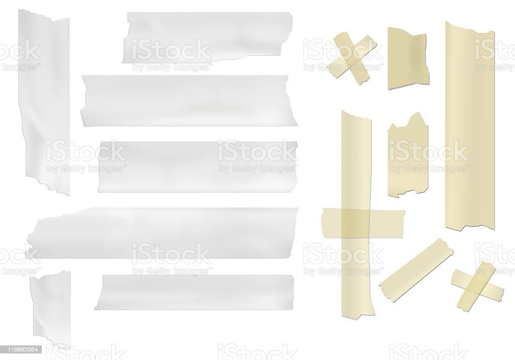 masking tape royalty-free stock vector art