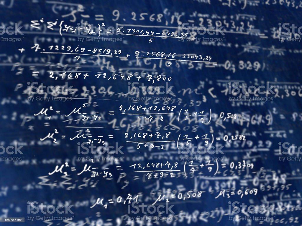 Math royalty-free stock vector art