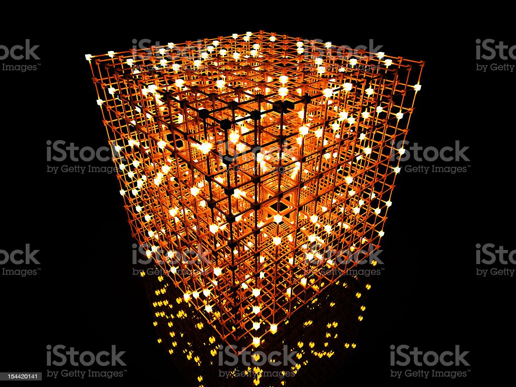Matrix royalty-free stock vector art