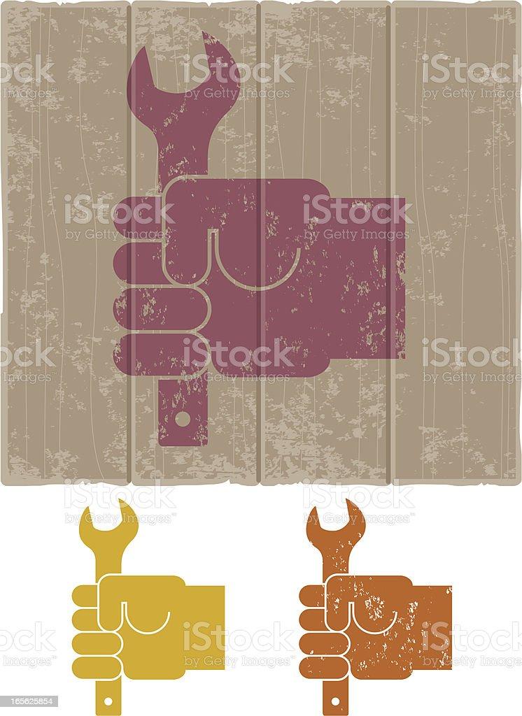 Mechanic royalty-free stock vector art