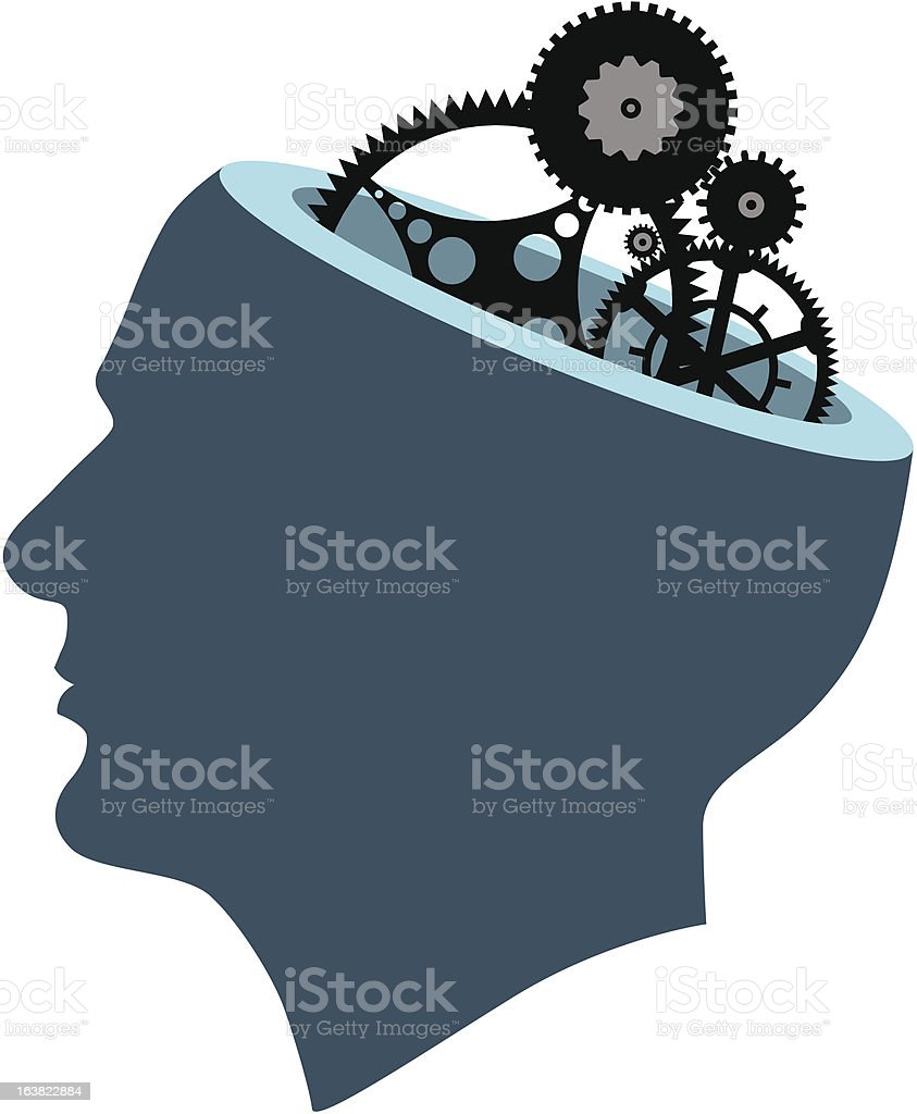 Mechanical Mind royalty-free stock vector art