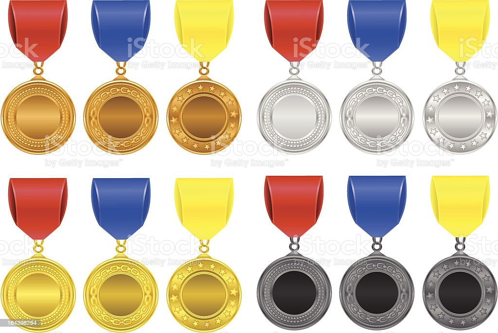 medallions royalty-free stock vector art