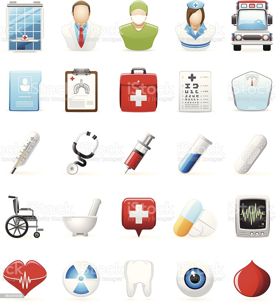 Medical Icon royalty-free stock vector art