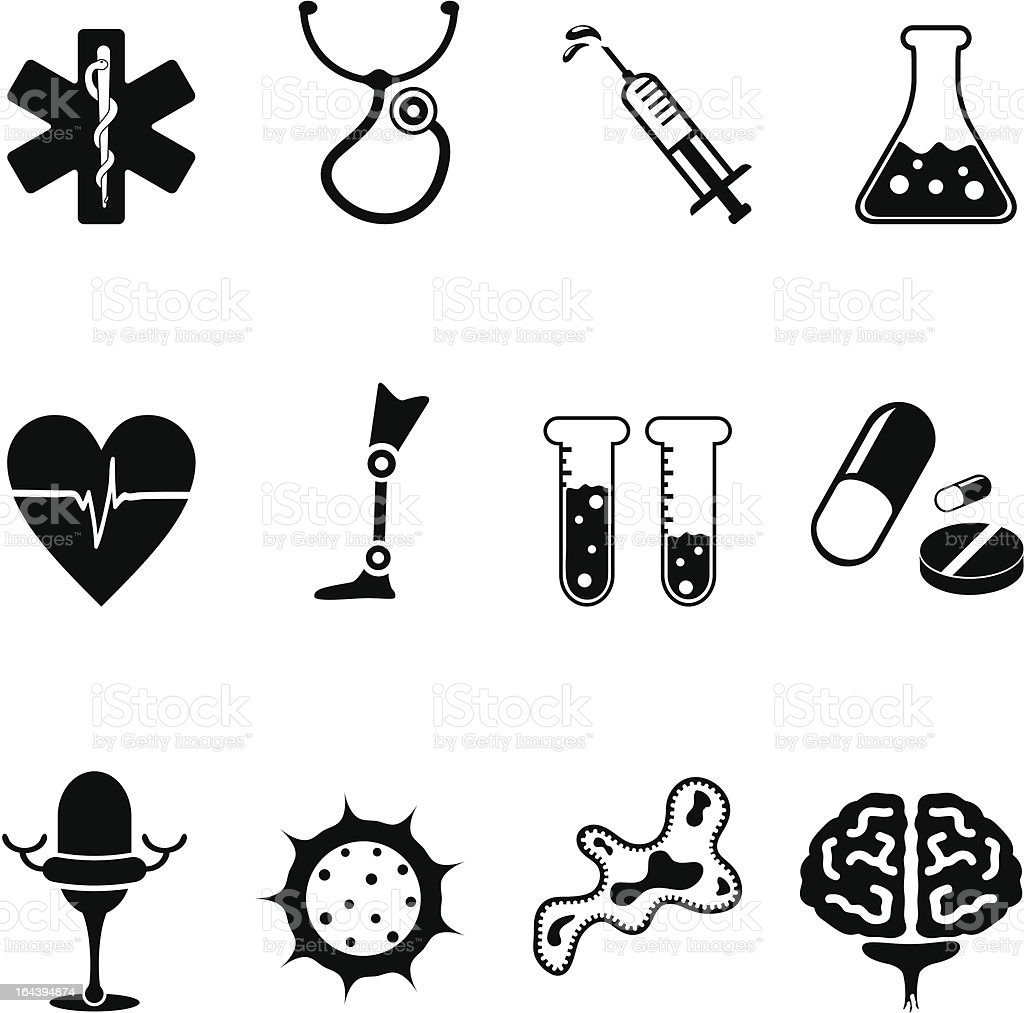 Medical icon set 2 royalty-free stock vector art