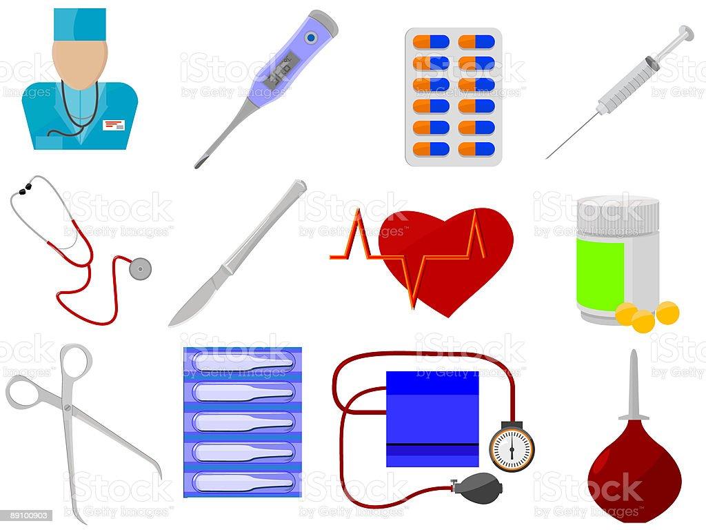 medicine and health royalty-free stock vector art