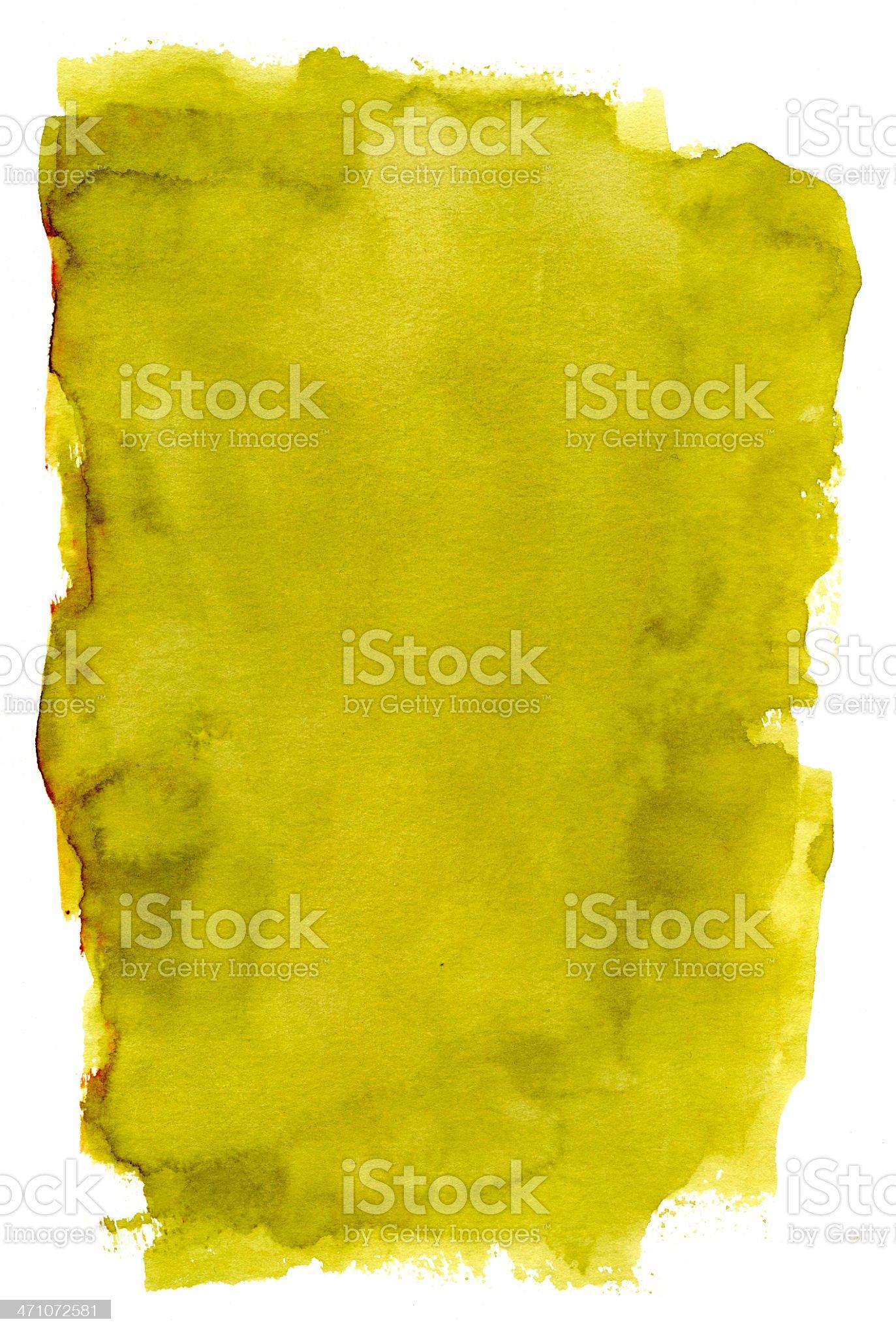 Mediterranean Olive Frame Vol II royalty-free stock vector art