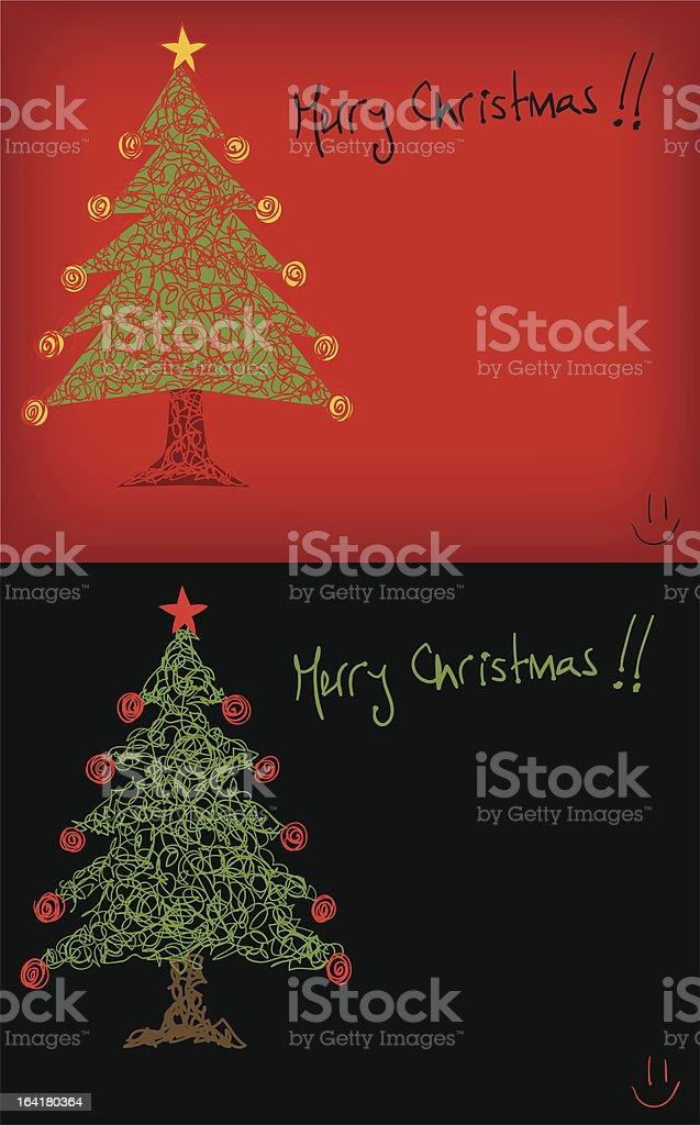 Merry Christmas !! royalty-free stock vector art