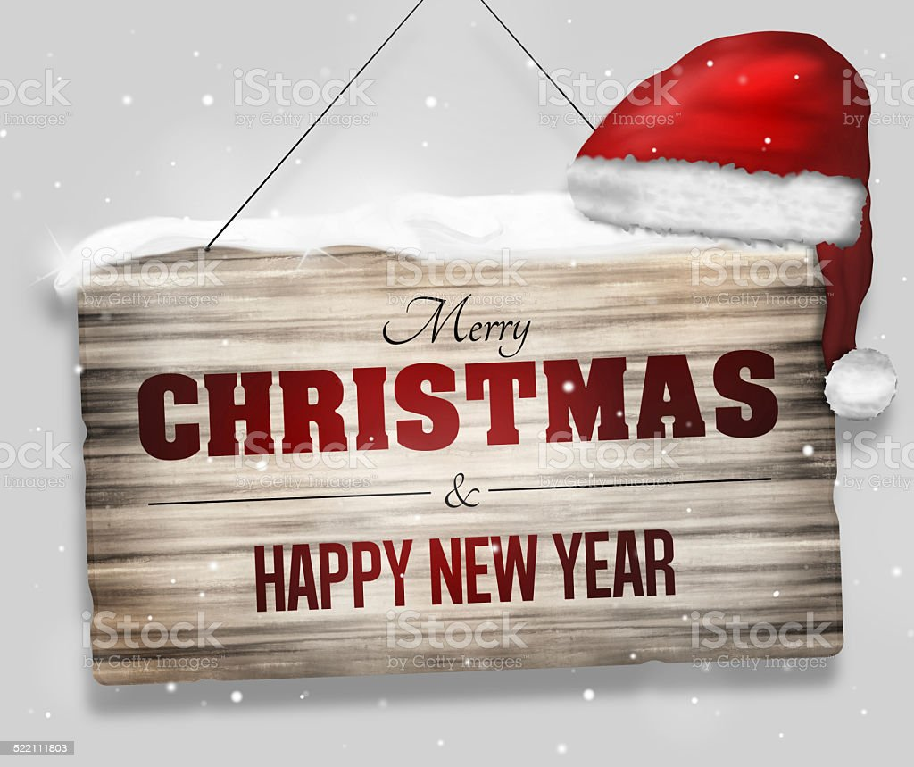 Merry Christmas red creative graphic design vector art illustration