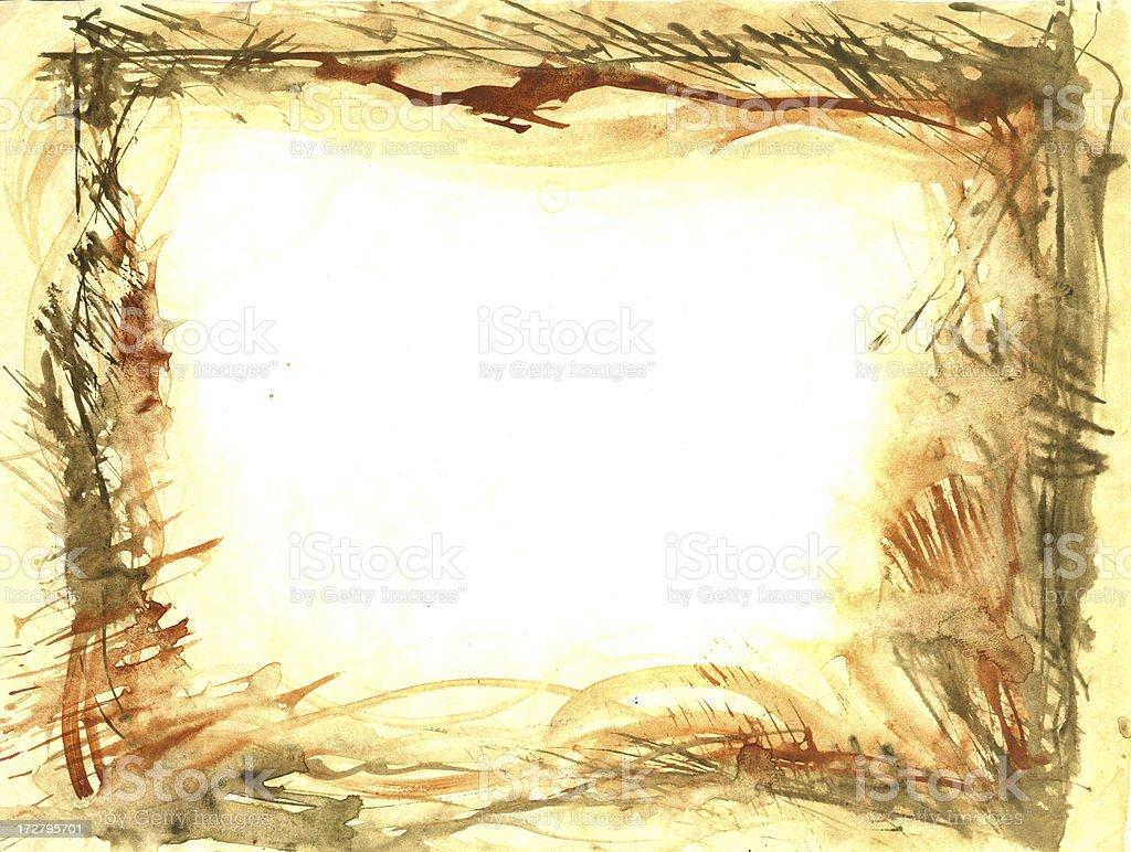 Unordentlich Gemaltes Bild Lizenzfreies vektor illustration
