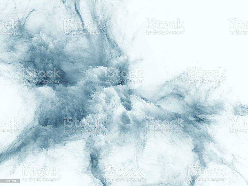 Metaphorical Fractal Burst royalty-free stock vector art