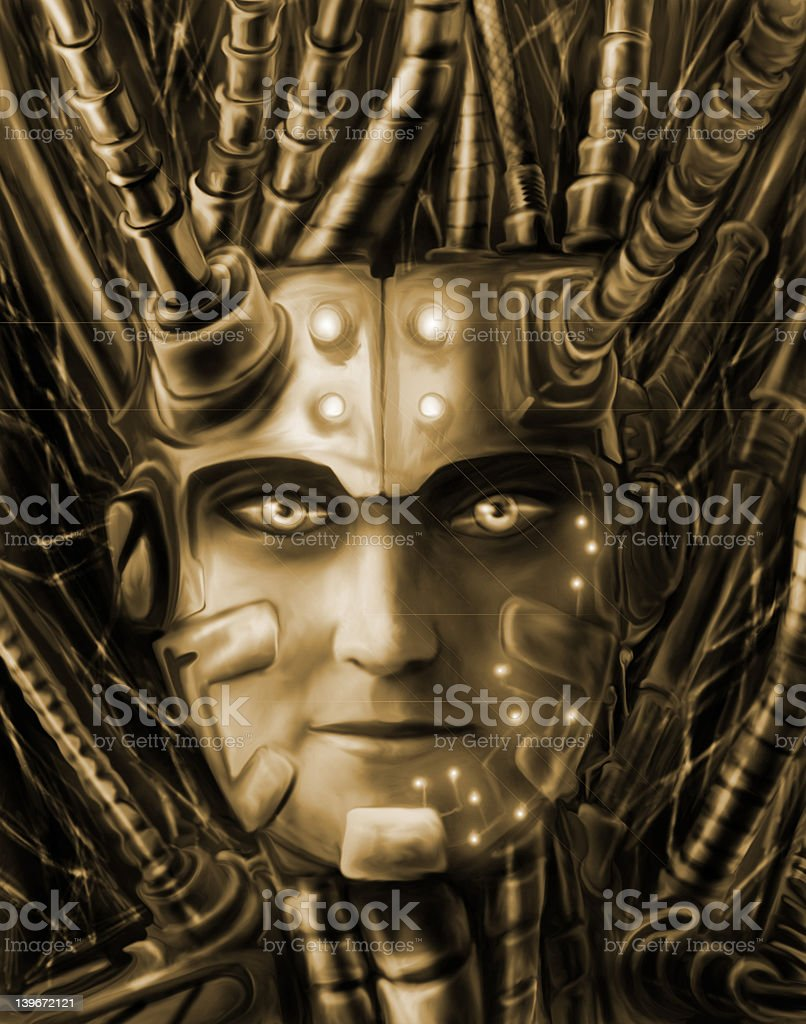 Metropolis XXIII royalty-free stock vector art