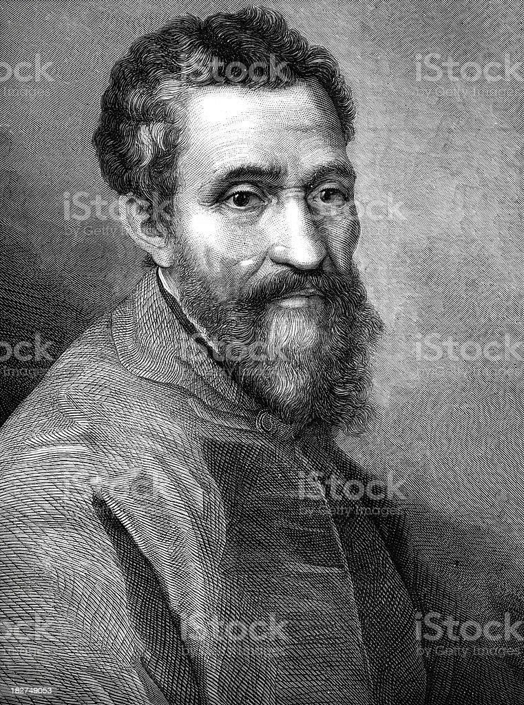 Michelangelo vector art illustration