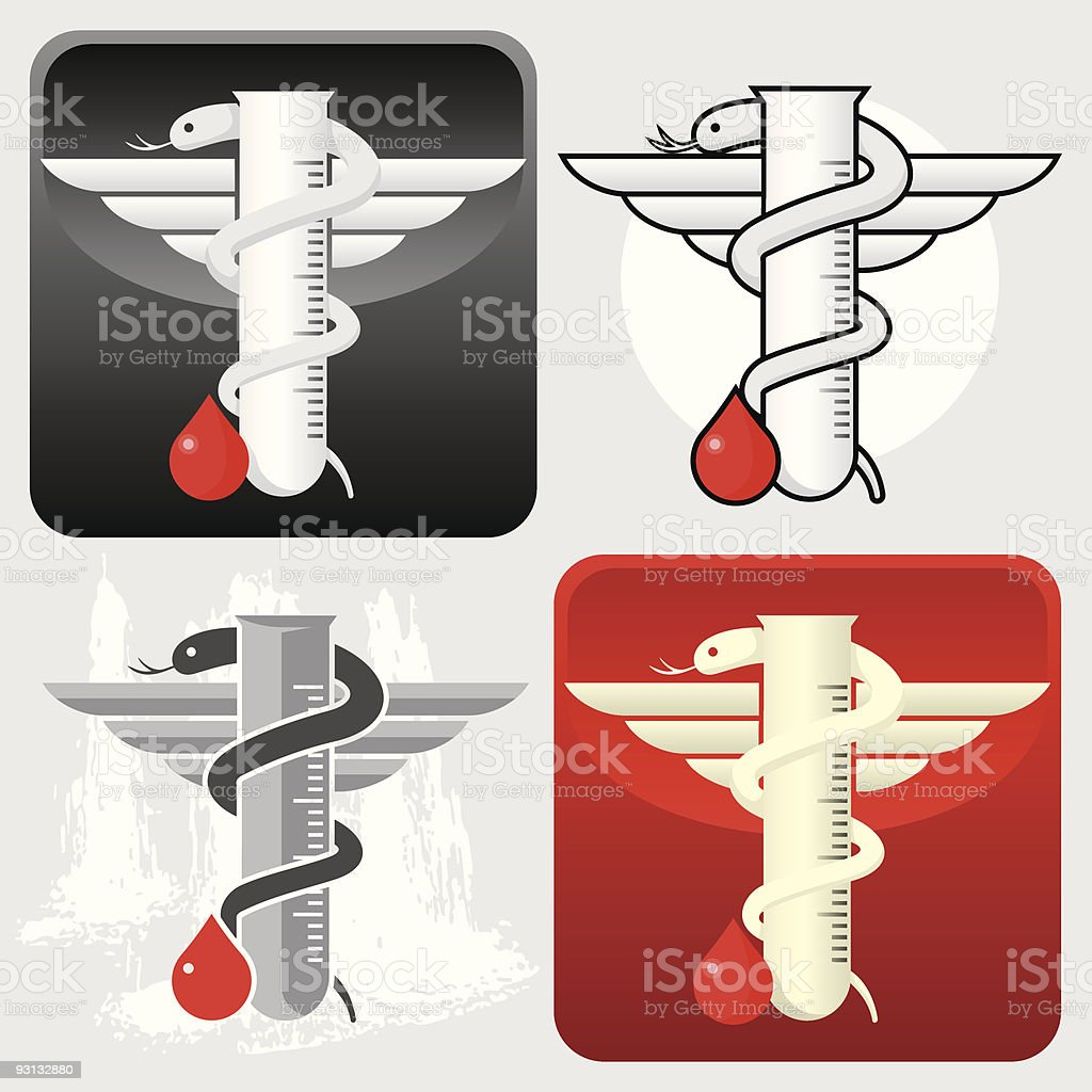 Microbiologists icon royalty-free stock vector art