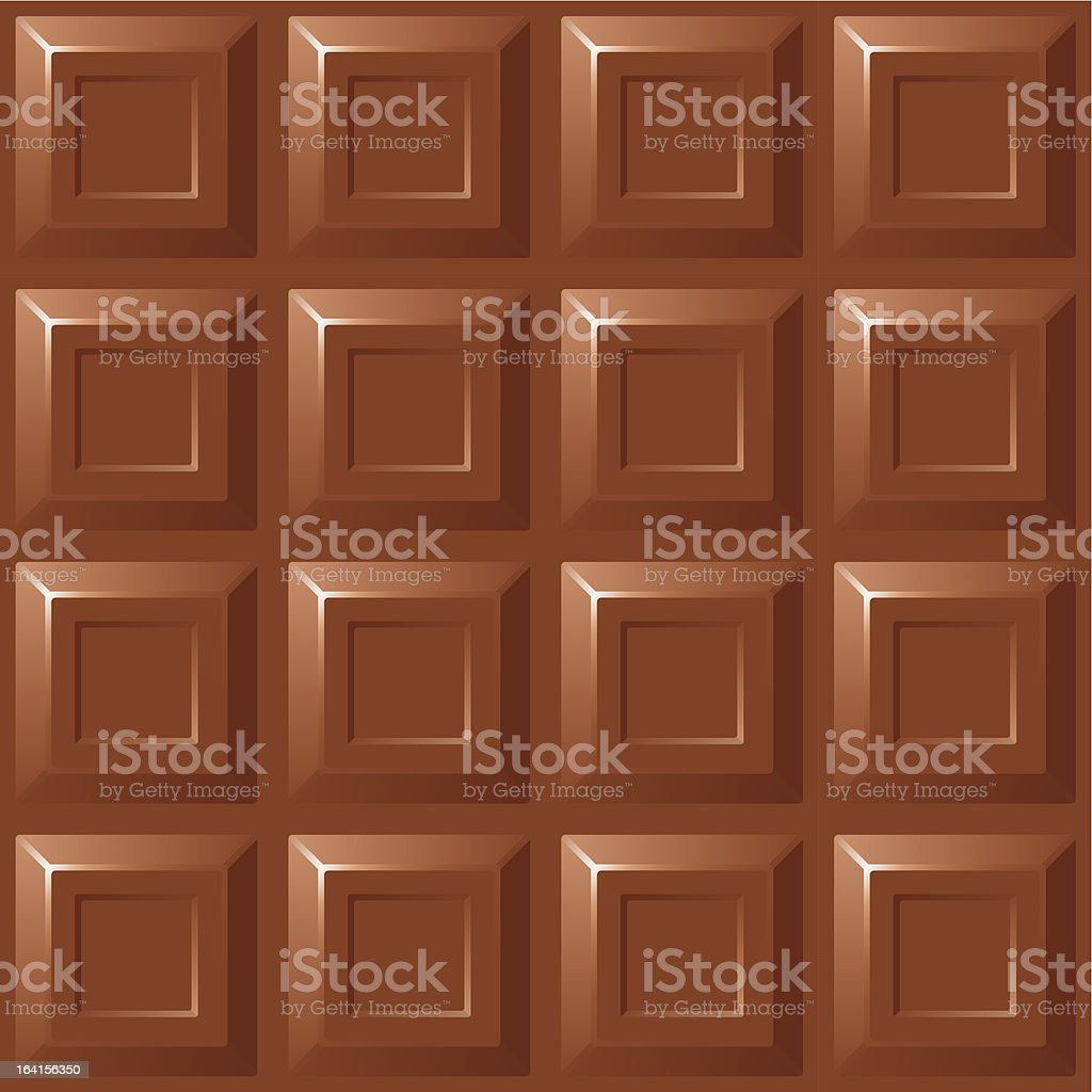 Milk chocolate royalty-free stock vector art