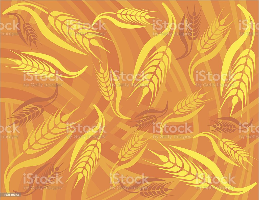 Millet royalty-free stock vector art