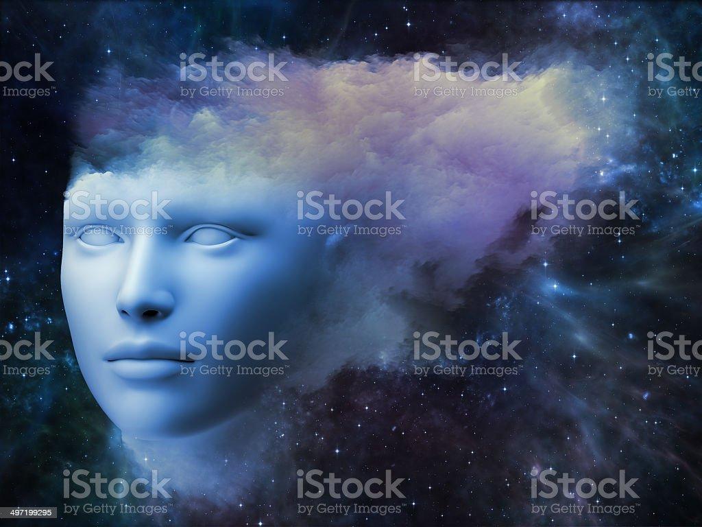Mind Fog royalty-free stock vector art