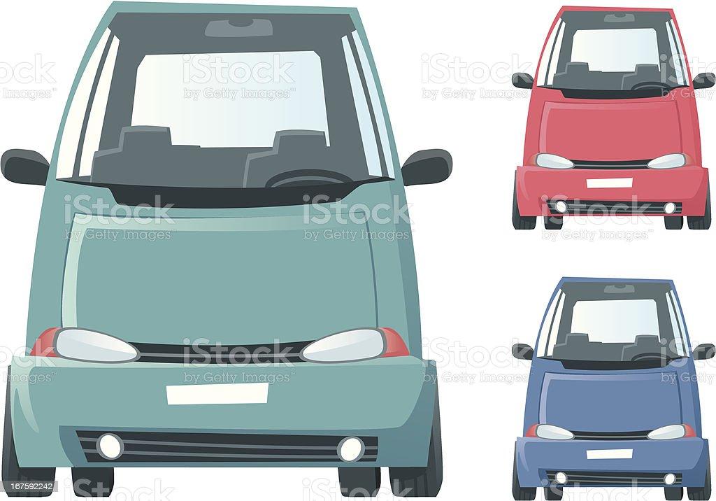 Mini Van royalty-free stock vector art