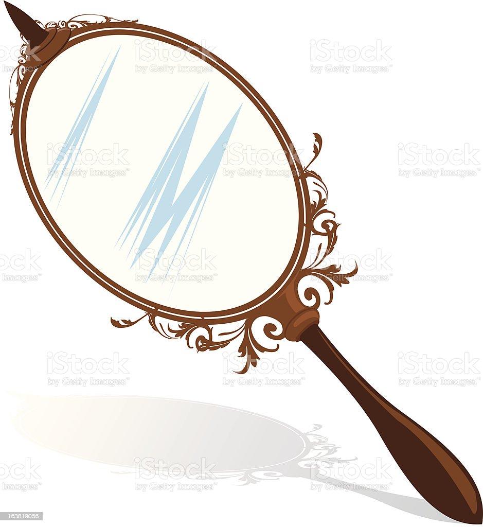Mirror royalty-free stock vector art