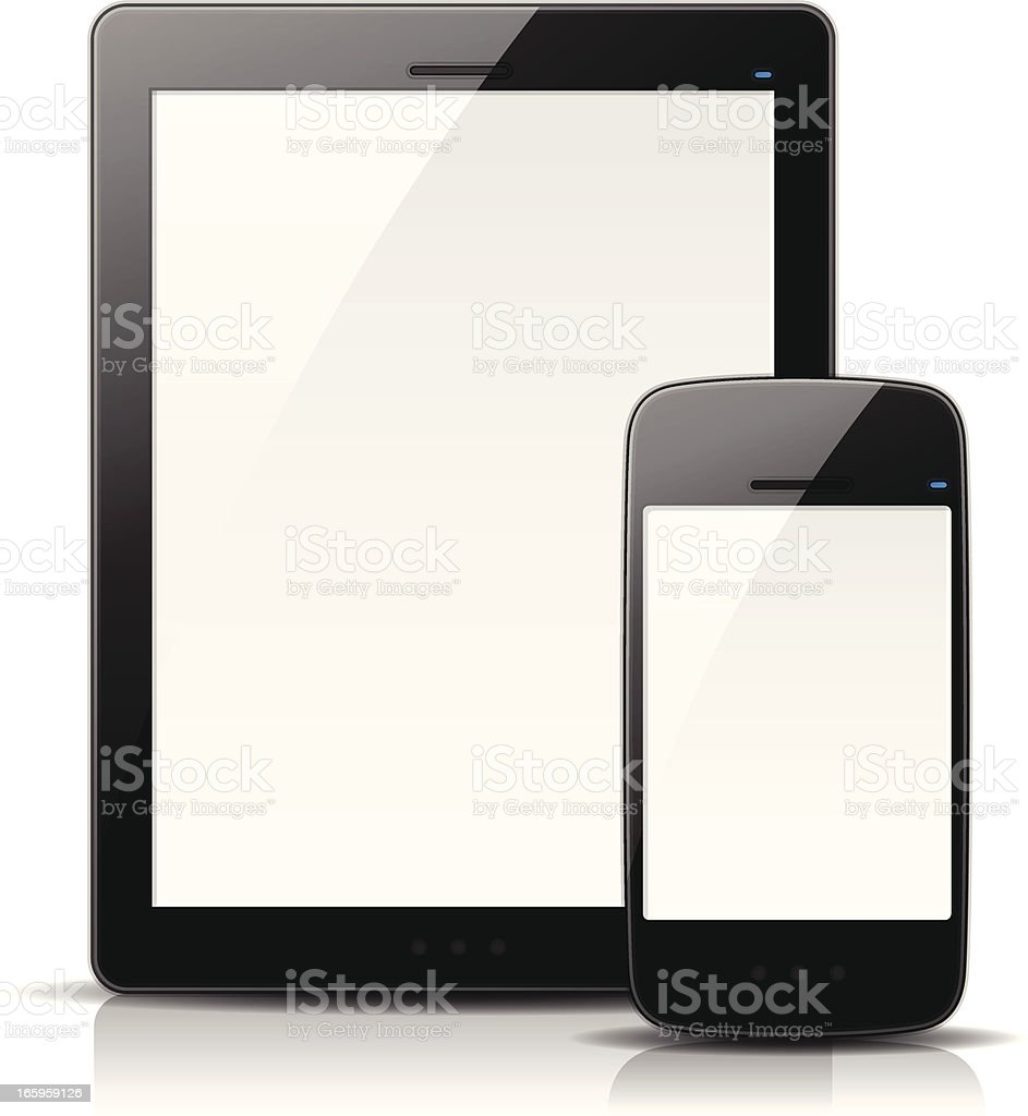 Mobile Devices royalty-free stock vector art