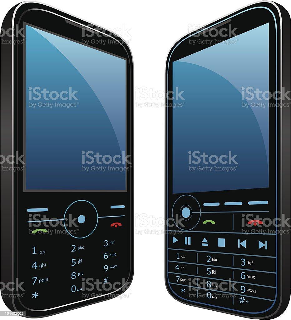 Mobile phone vector royalty-free stock vector art
