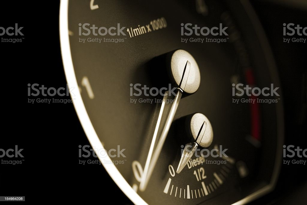 modern car tachometer royalty-free stock vector art
