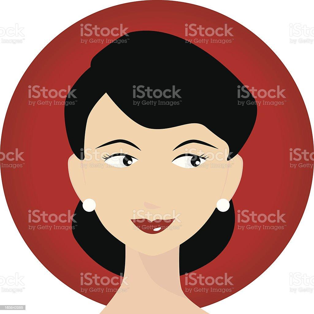 Mom Icon royalty-free stock vector art