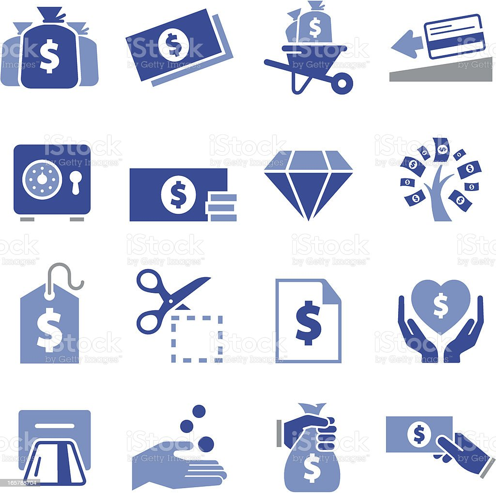 Money Icons - Pro Series vector art illustration