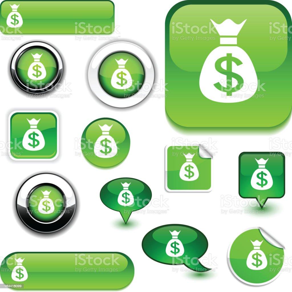 Money signs. royalty-free stock vector art