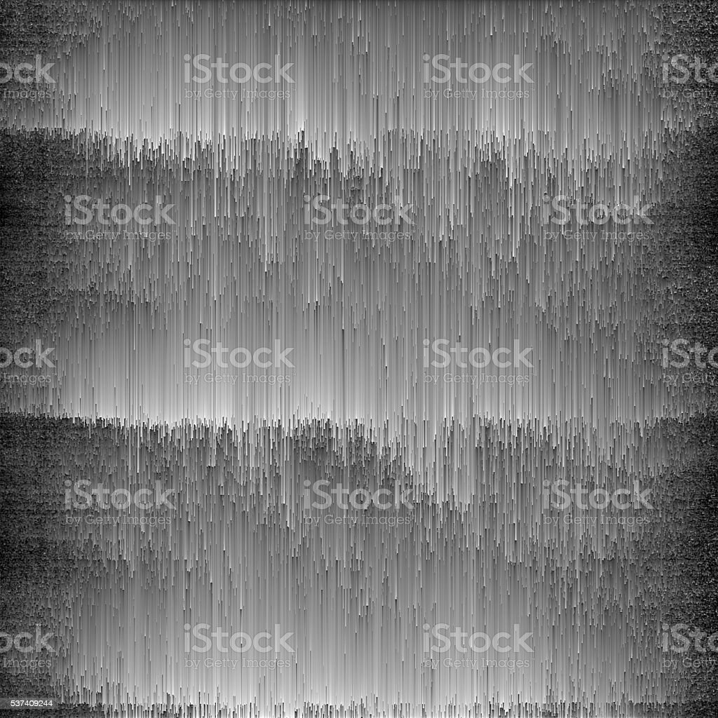 Monochrome Digital Texture Abstract Glitch Art vector art illustration